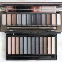 DUPES? Makeup Revolution Iconic Smokey Palette vs. Urban Decay Naked Smoky Palette