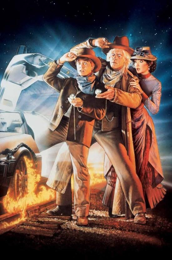 Back to the Future 3 Drew Struzan poster artwork