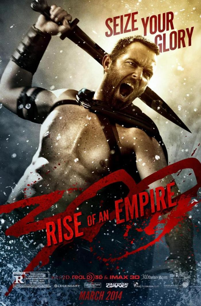 300 Rise of an Empire - Sullivan Stapleton as Themistocles