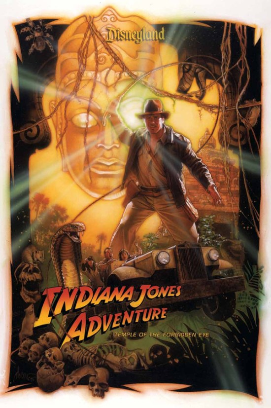 Indiana Jones Adventure Drew Struzan poster artwork