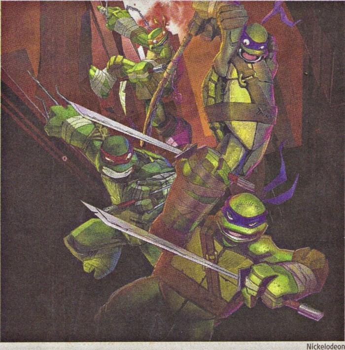 Teenage Mutant Ninja Turtles - big