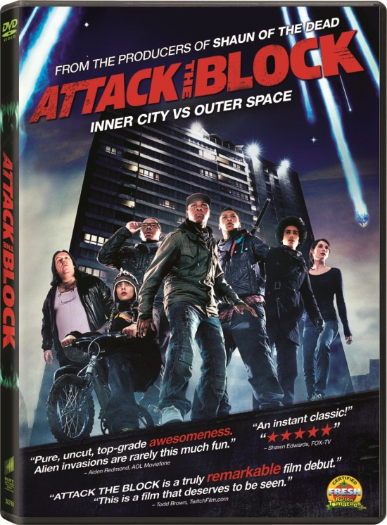 Attack the Block DVD Cover