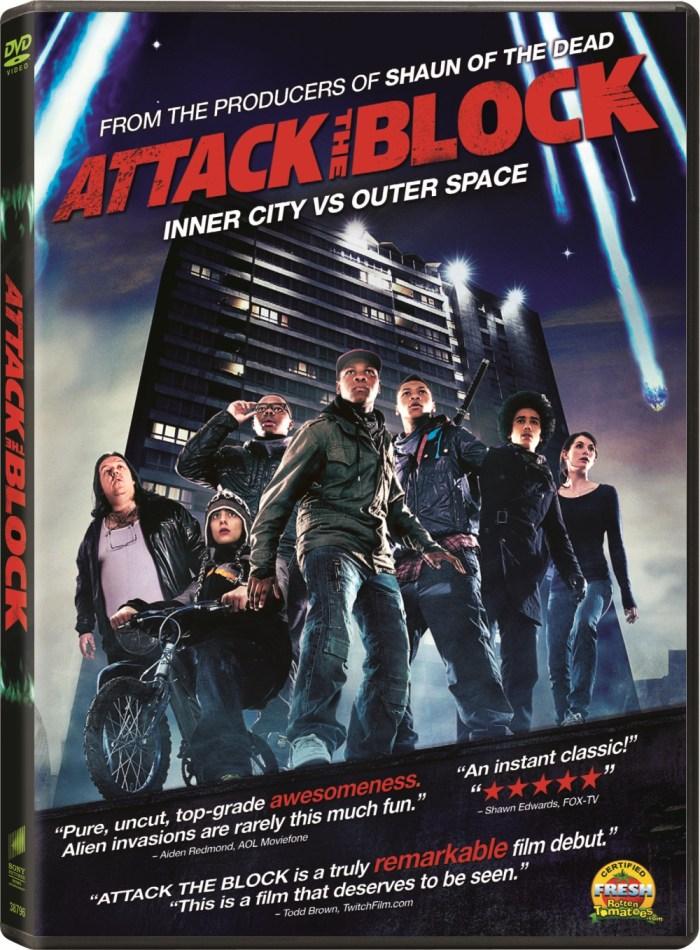 Attack the Block DVD Cover