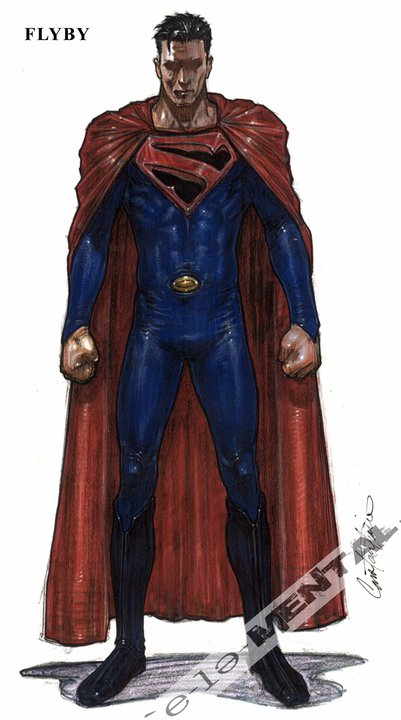 JJ Abrams Superman Concept Art 2