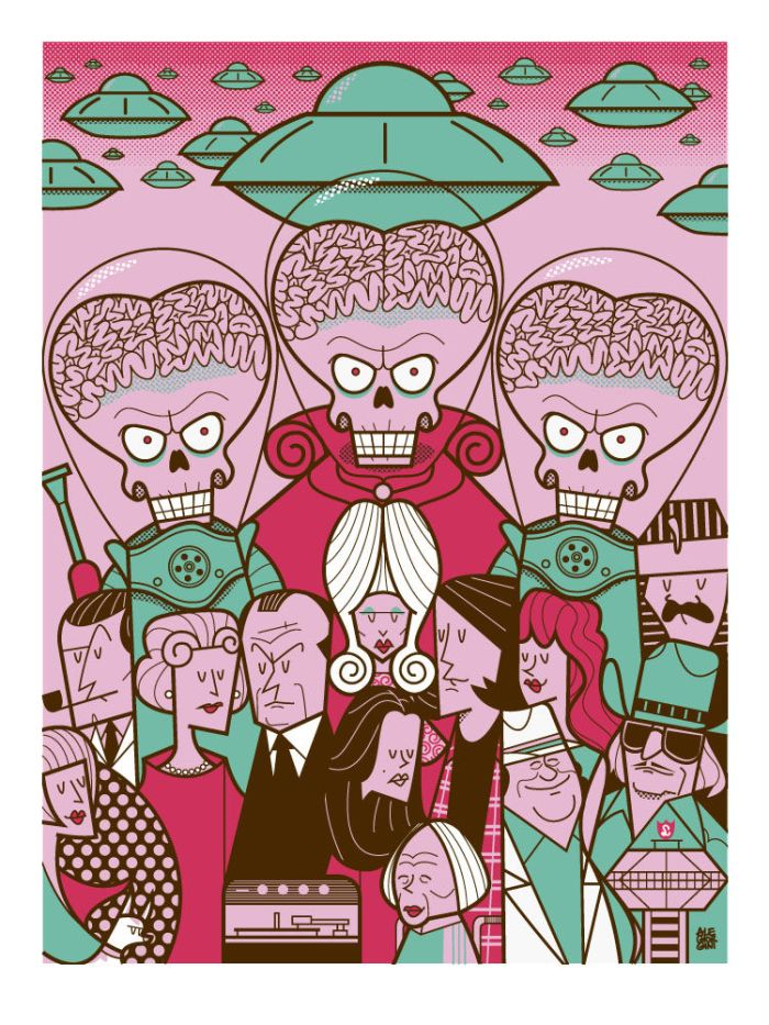 Ale Giorgini - Mars Attacks