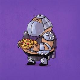 Teenage Mutant Ninja Turtle Art