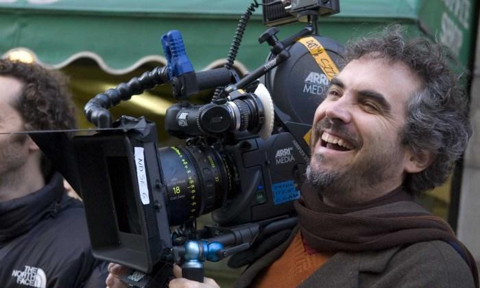 Alfonso Cuaron shooting Children of Men