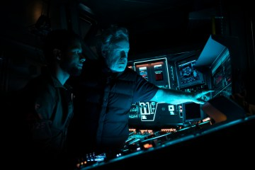 Alien Covenant - Jussie Smollett and Ridley Scott (BTS)