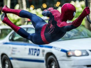 Amazing Spider-Man 2 swing