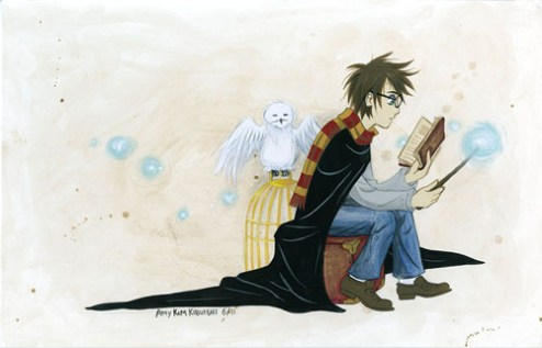 Amy Kim Kibuishi - Harry Potter Exhibit