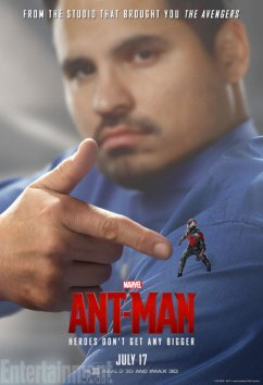 Ant-Man character posters - Michael Pena as Luis