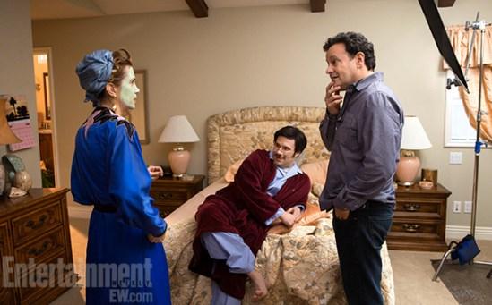 Arrested Development Season 4 Kristen Wiig, Seth Rogen, and Mitch Hurwitz. 2013