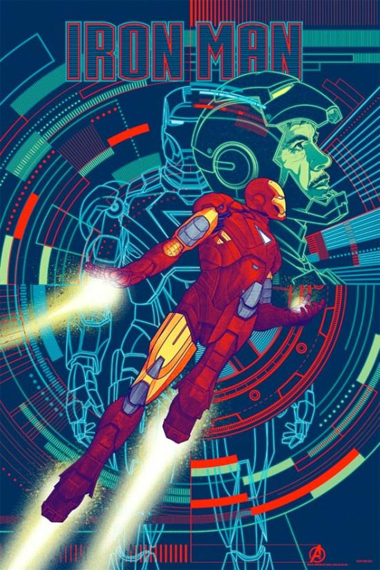 Avengers Mondo Poster - Iron Man