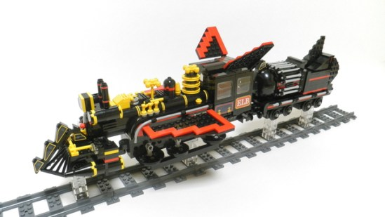 Back to Future Lego Train 3