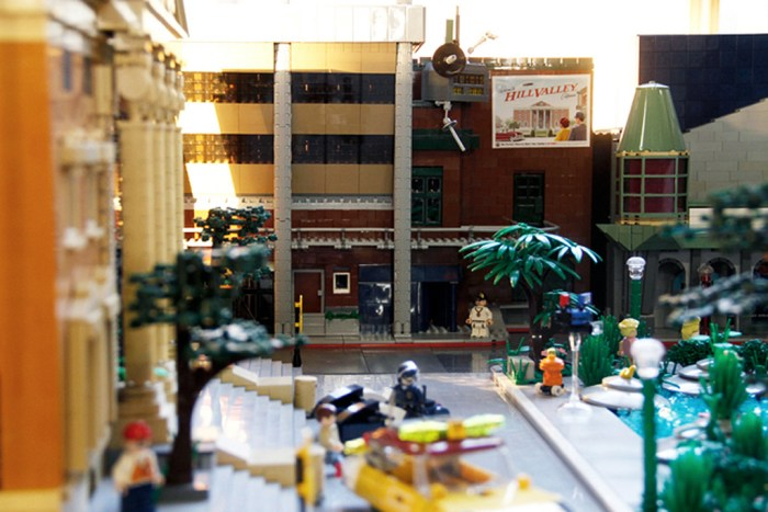 Back to the Future II Lego 11
