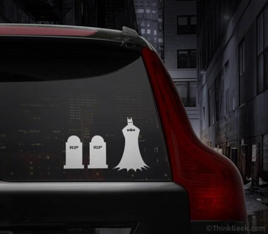 Batman Family Car Detail