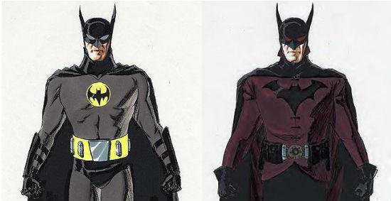 Batman Year One concept header