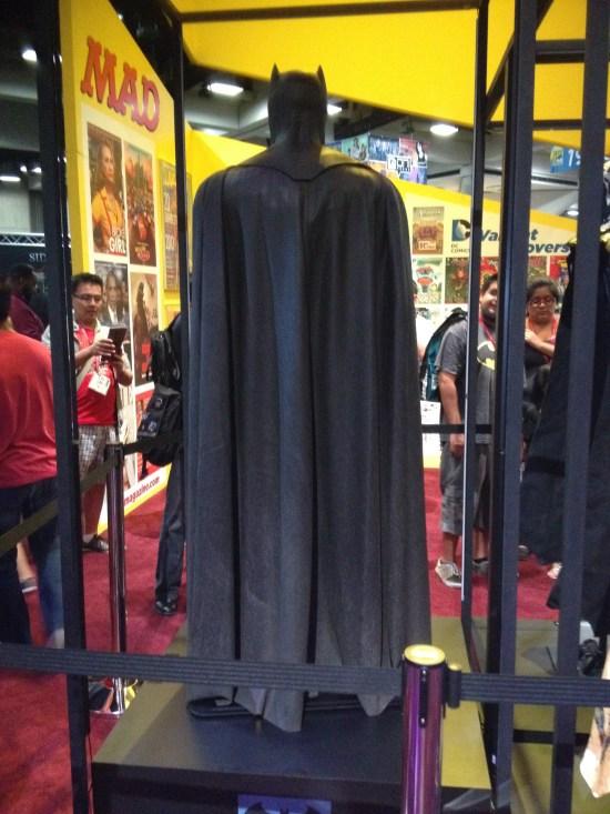 Ben Affleck Batsuit Back View