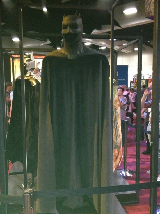Ben Affleck Batsuit Front View
