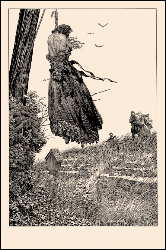 Bernie Wrightson - Perished On the Scaffold