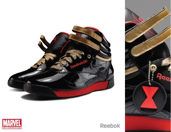 Black Widow Reebok
