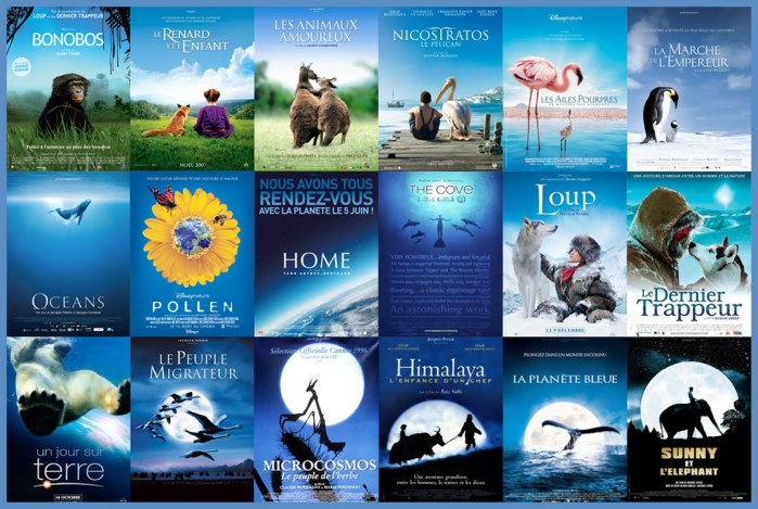 Blue Nature Poster Trend