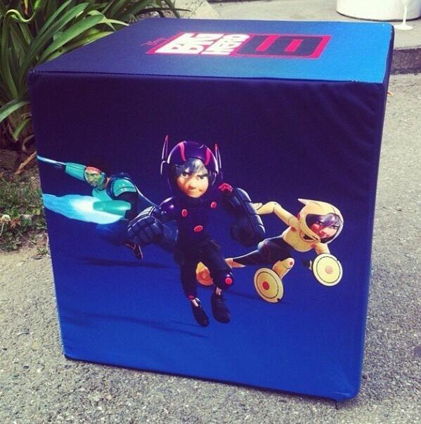 Big Hero 6 promo