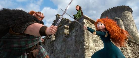 Brave Fergus Merida Swords