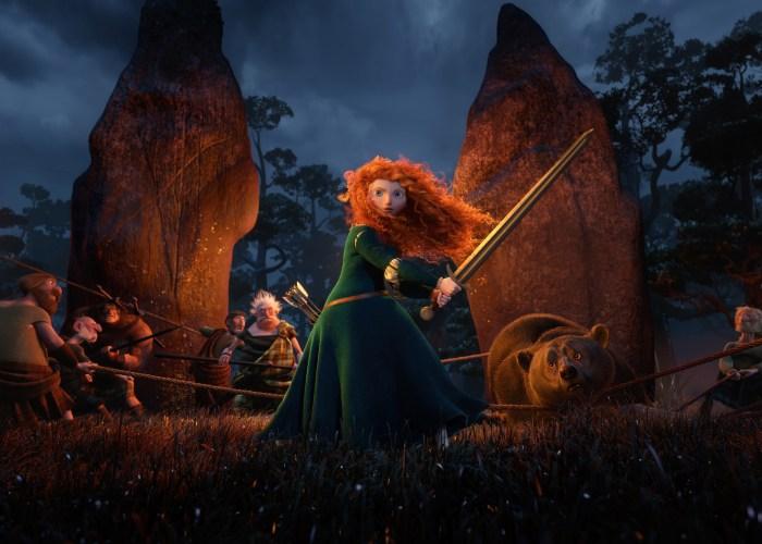Brave Merida Sword