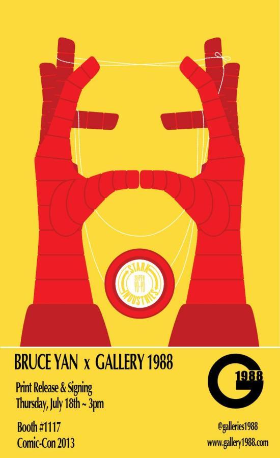Bruce Yan Iron man