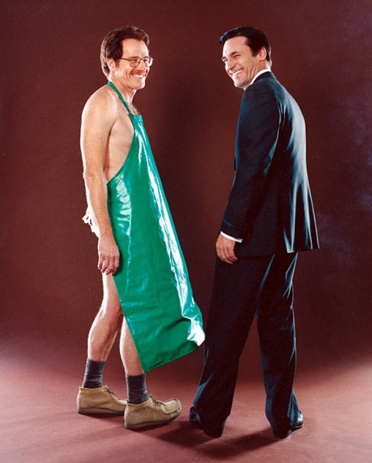 Bryan Cranston and Jon Hamm