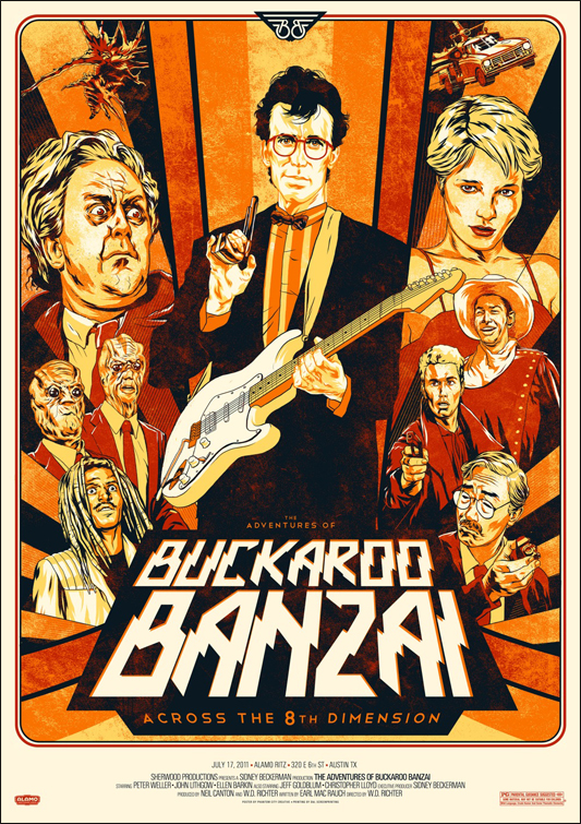 Buckaroo Banzai - Phantom City Creative