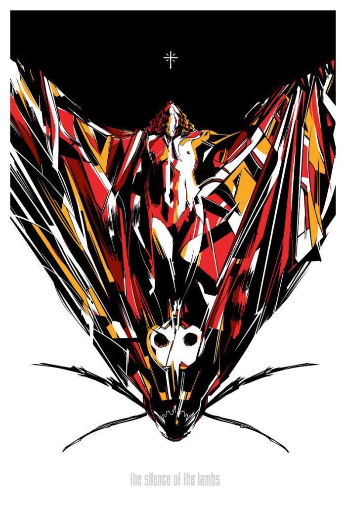 Caesar Moreno - Silence of the Lambs moth
