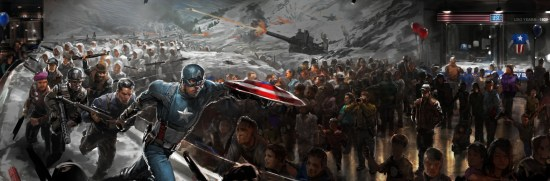Captain America The Winter Soldier concept art (1)