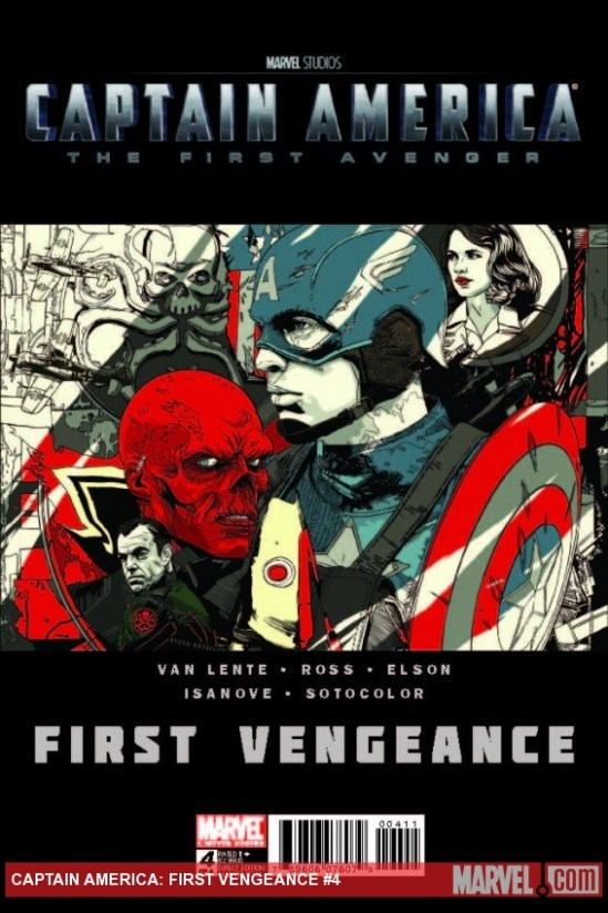 Captain America cover - Tyler Stout