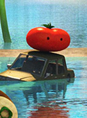 Cloudy 2 - Tomato