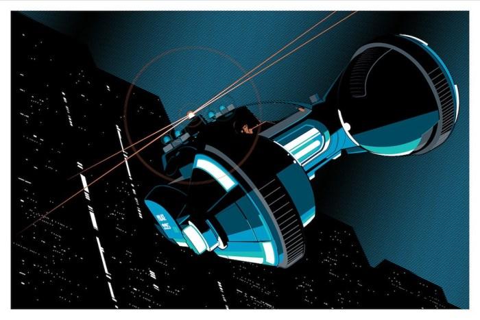 Craig Drake - Spinner horizontal Blade Runner