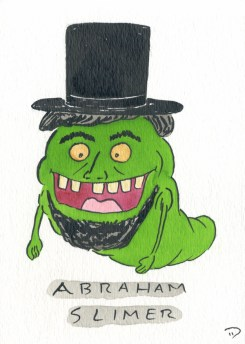 Dan Goodsell - Ghostbusters abrahmanslimer