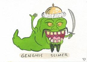 Dan Goodsell - Ghostbusters genghisslimer