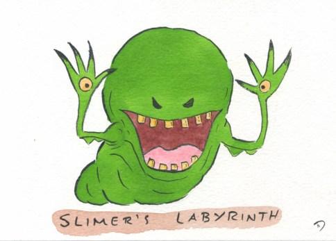 Dan Goodsell - Ghostbusters slimerslabyrinth