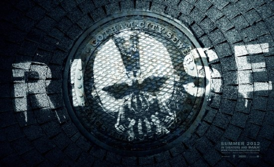 Dark Knight Rises Bane Sewer Poster