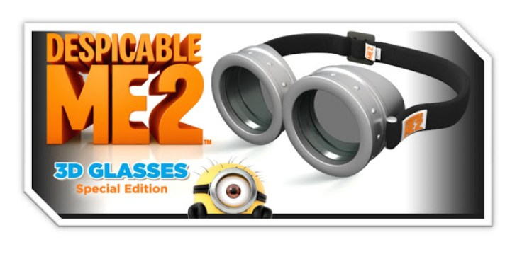 Despicable Me 2 3D Special Edition Glasses