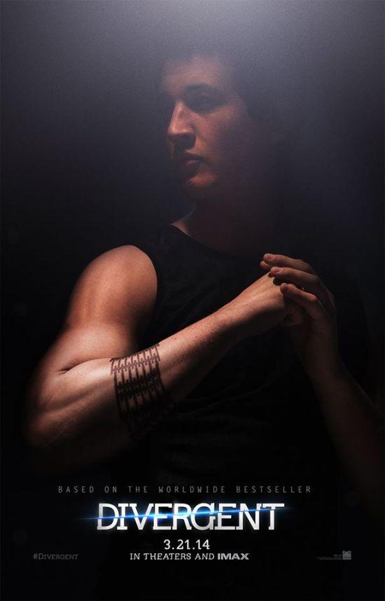 Divergent - Miles Teller as Peter