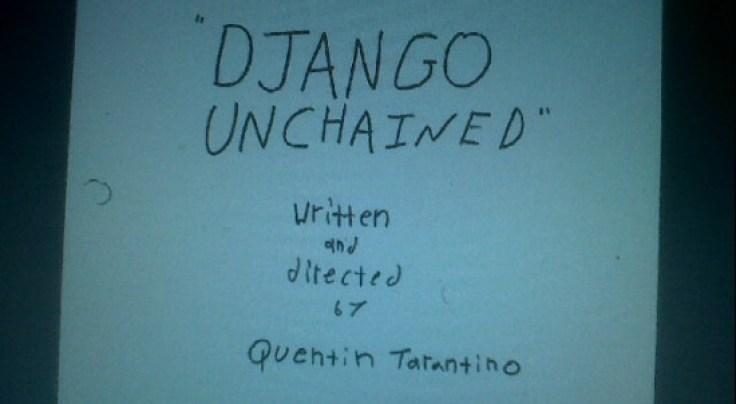Django Unchained Script