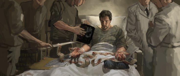 Doctor Strange concept art - hospital