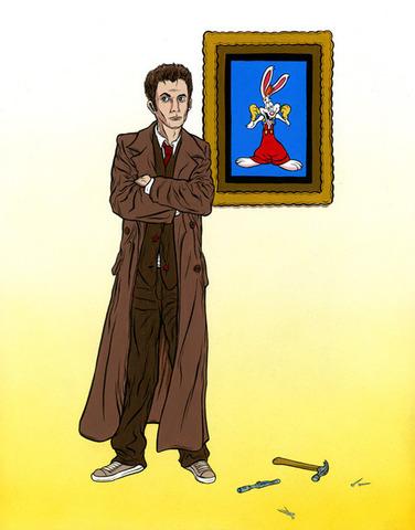 Doctor Who Framed Roger Rabbit