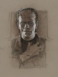 Drew Struzan - Frankenstein portrait