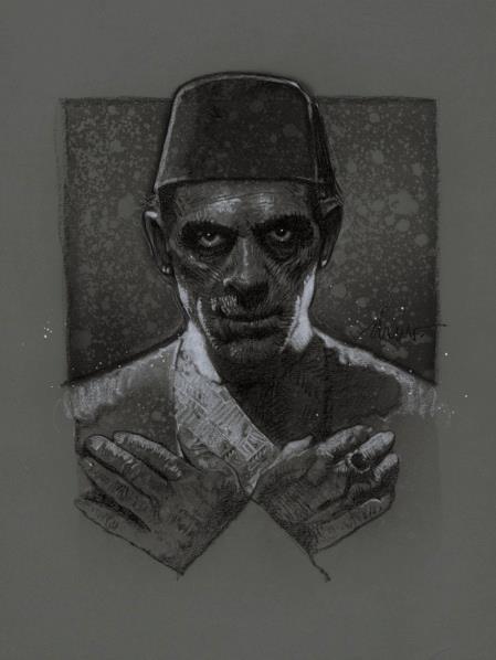 Drew Struzan - The Mummy