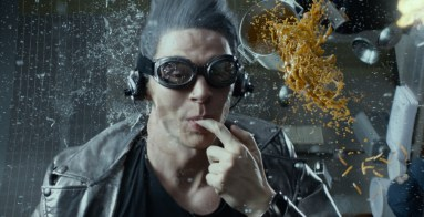Evan Peters as Quicksilver in X-Men Days of Future Past