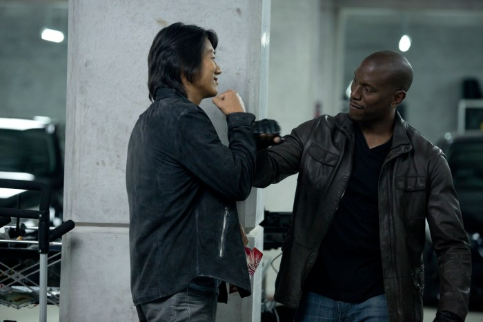 Fast and Furious 6 - Sung Kang and Tyrese Gibson
